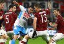 Milan-Napoli 1-1, profondo rosso